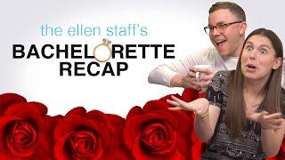 The Ellen Staff's 'The Bachelorette' Recap: Husband Material + DeMario Drama