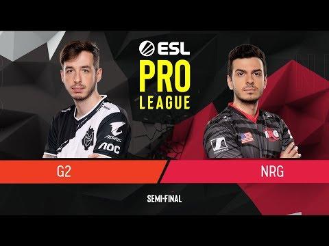 CS:GO - G2 Esports Vs. NRG [Overpass] Map 3 - Semi-Final - ESL Pro League Season 9