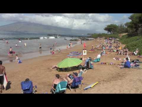 Kamaole 3 Beach Park, Kihei Hawaii [HD]