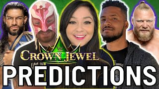 WWE CROWN JEWEL PREDICTIONS 2021 w/ Tempest, Will Washington & Denise Salcedo!