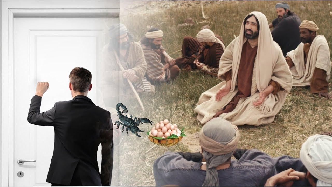 Tin Mừng Chúa Nhật 17 Thường Niên - Năm C (Lc 11, 1-13)