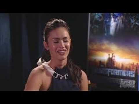 transformers movie:megan fox interview