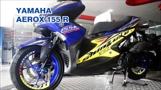 Yamaha Aerox 155cc R MesinVVA, MODIFIKASI BODY  DEALER
