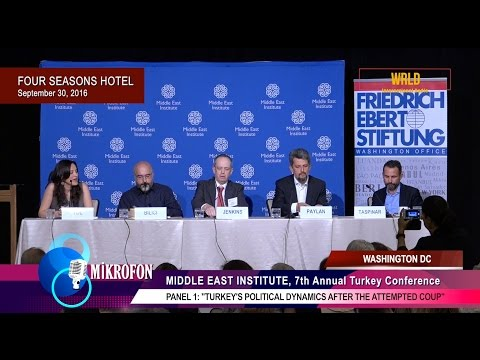Turkey's Political Dynamics after the Attempted Coup (full panel video)