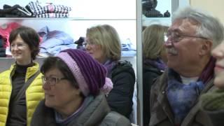 Flashmob: Tochter Zion im Kaufhaus