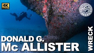 #Wreck Diving: Donald G. Mc Allister (Hollywood, Florida)