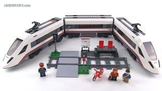 LEGO City 60051 High-Speed Passenger Train reviewed! Summer 2014