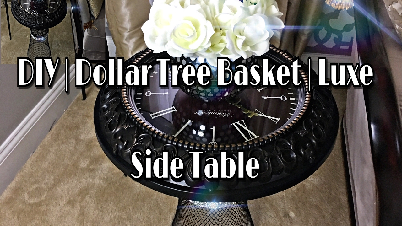 Luxe Side Table - $12 - YouTube