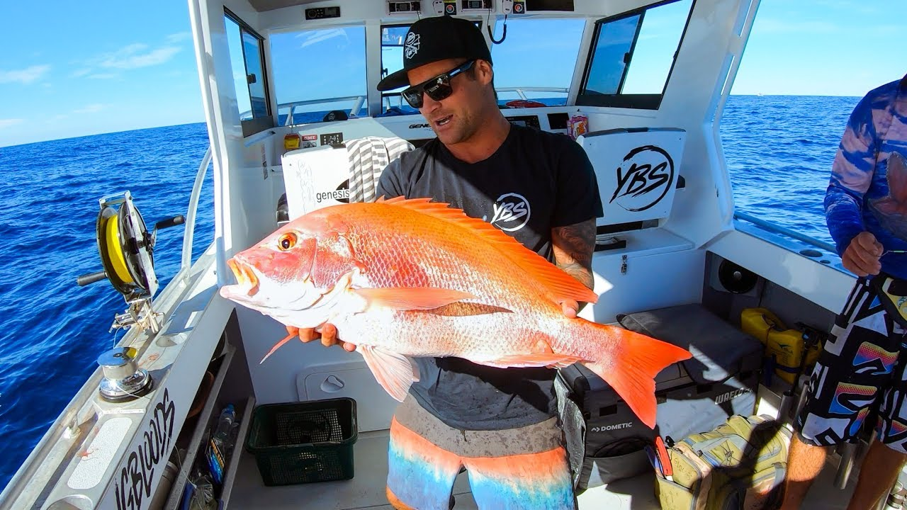 DEEP SEA FISHING FOR GIANT REDS Catch And Cook - Ep 83