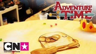 Время Приключений | Блины с беконом - За кадром | Cartoon Network