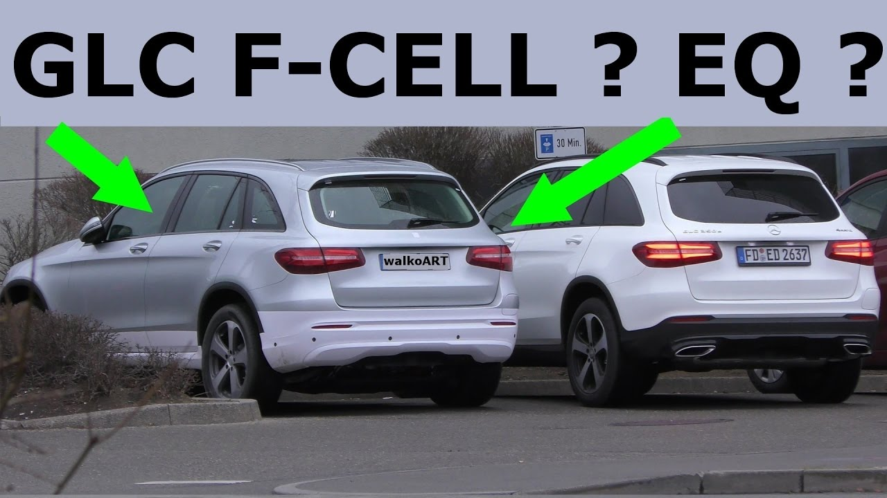 Mercedes Erlkönig GLC F-CELL, EQ, Facelift ? X253 2018 ...