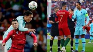 Криштиану Роналду против Вирджил ван Дейк Португалия vs Нидерландов