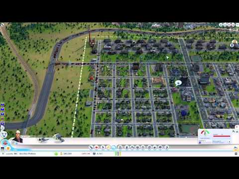 SimCity Online Gameplay by SKS Plays: w. Azure Alliance and Dwarven Viking [Episode 4]