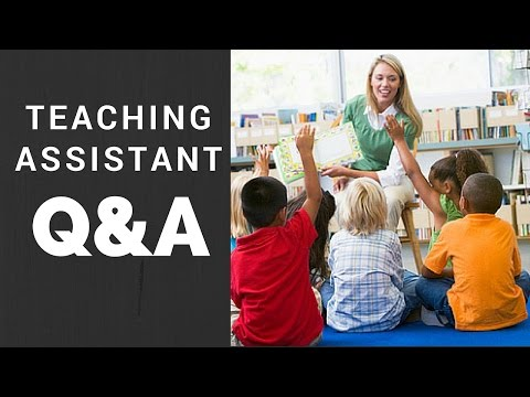 Teaching Assistant Q&A - ask us anything!