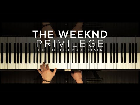 The Weeknd - Privilege | The Theorist Piano Cover