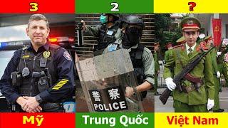 🔥SO Sánh Công An Việt Nam Với Công An Mỹ Và Trung Quốc ? liệu VN Đã Sánh Ngang Với Mỹ và Trung Quốc