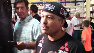 ROBERT GARCIA TALKS RUMOURS OF PACQUIAO v BRONER & MIKEY GARCIA SITUATION WITH TOP RANK PROMOTIONS