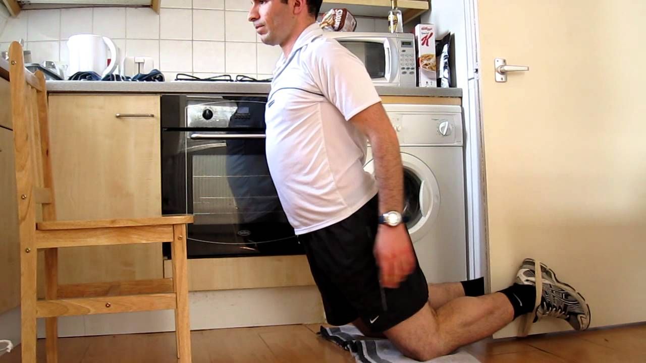 Unassisted Nordic Hamstring Curls - YouTube