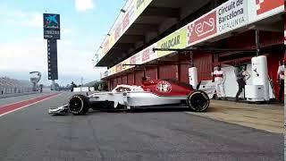 アルファロメオ・ザウバーは、2018年F1マシン『C37』のシェイクダウンを...