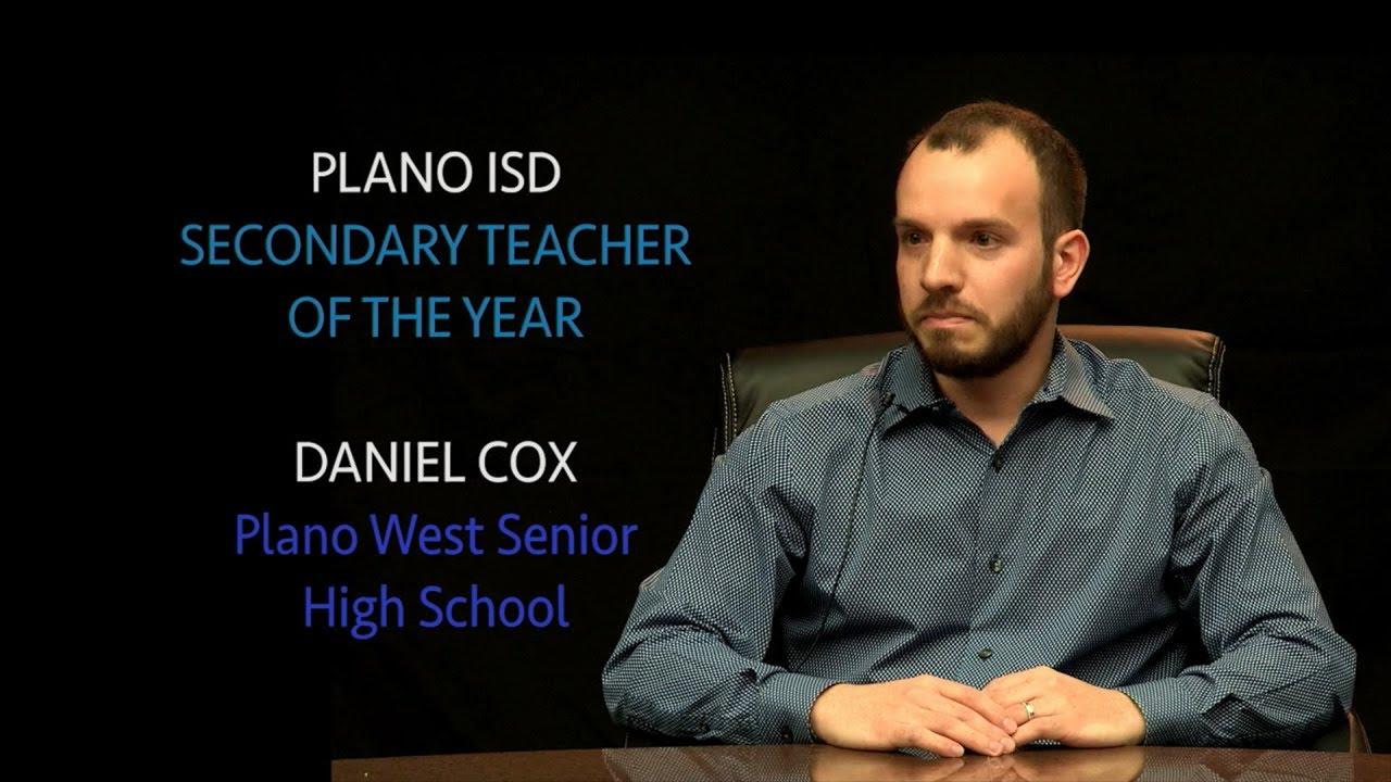 2019 Plano ISD Secondary Teacher of the Year - Daniel Cox