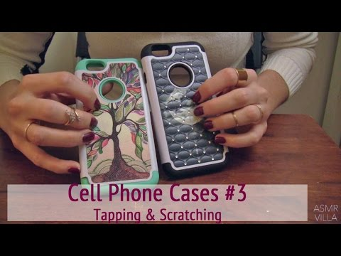 ASMR * Theme: Cell Phone Cases 3 * Tapping & Scratching  * Fast Tapping * No Talking * ASMRVilla