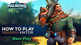Paladins Grande campeão Viktor em ação!