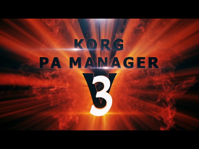 Korg Pa Manager V2.1 Crack
