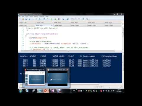 PowerShell Workflows Donnie Taylor - CTSMUG 6-7-2014