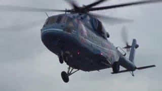 ВЕРТОЛЕТ МИ-38 (ПОСАДКА-ВЗЛЕТ) HELICOPTER