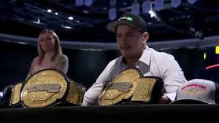 L'ESPRIT SPORTIF - Football: Coupe Dunsmore Rouge et Or- Boxe: Éric Lucas- M.-A Barriault UFC