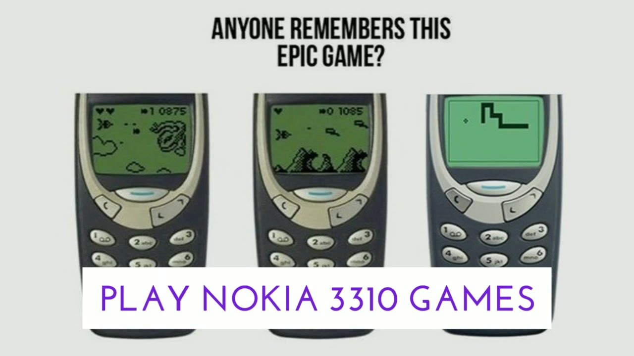 nokia 3310 spiele