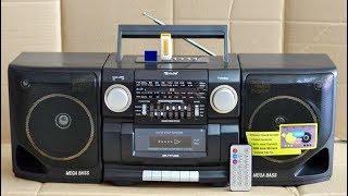 Кассетная магнитола MP3 USB бумбокс Golon QR-777USB