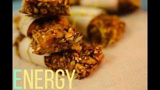 Рецепт энергетических батончиков. Полезный перекус | Рецепт дня