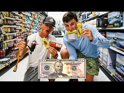 $50 Wal-Mart Fishing Challenge (Pick My Fishing Gear!)