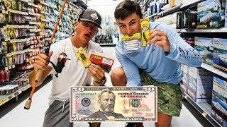 $50 Wal-Mart Fishing Challenge (Pick My Fishing Gear!)