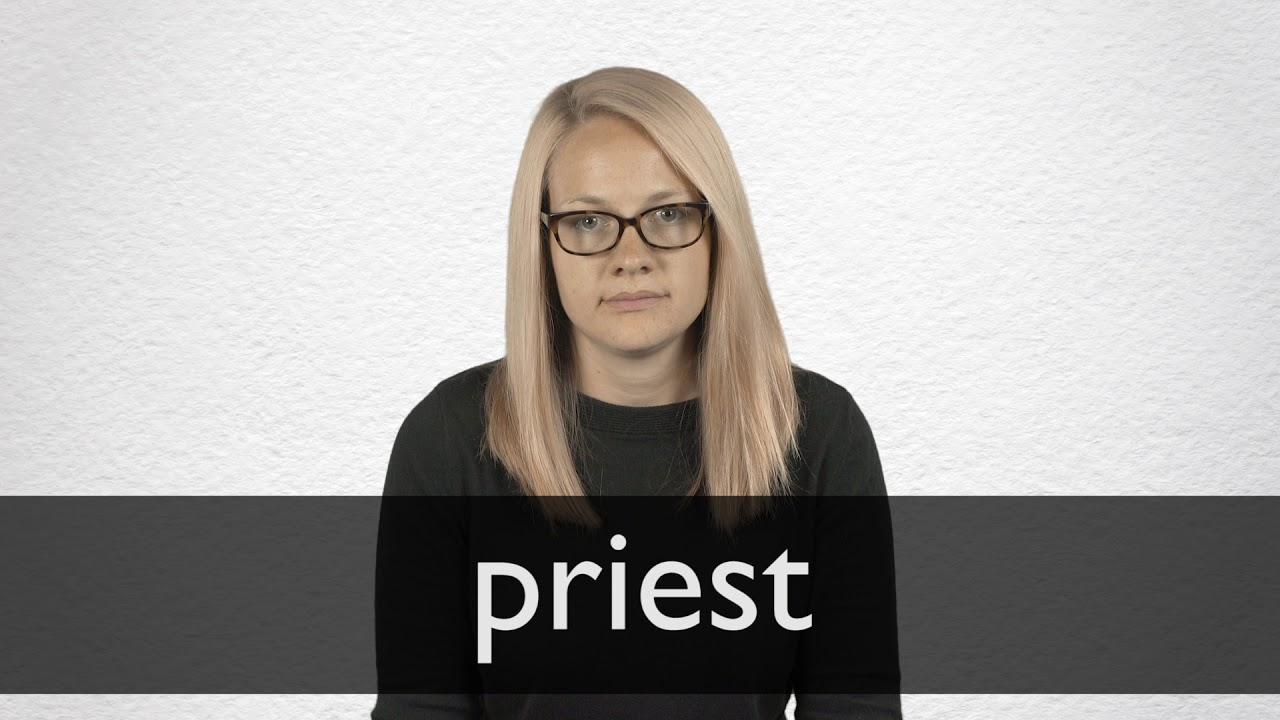 How to pronounce PRIEST in British English