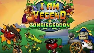 Мультик игра для Детей Супер перцы против зомби 2 часть   I am Vegend Zombiegeddon