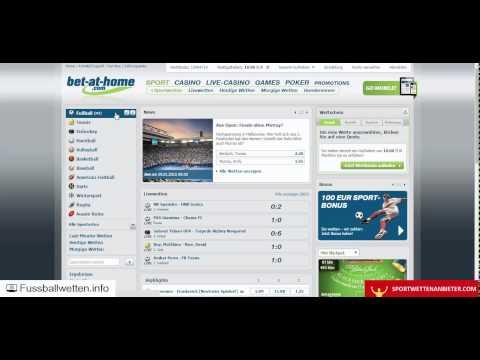Video Sportwetten app vergleich