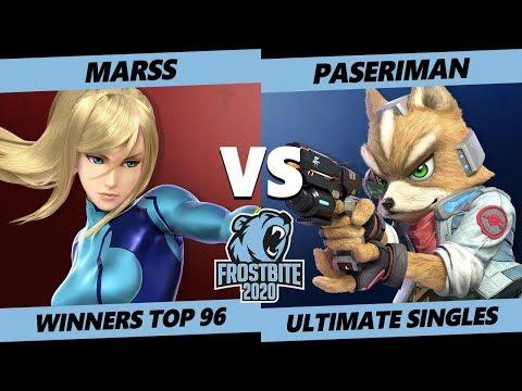 Frostbite 2020 SSBU Winners Top 96 - PG | Marss (ZSS) Vs. R2G | Paseriman (Fox) Ultimate Singles