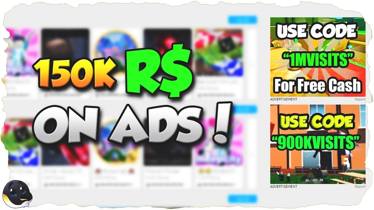Spending 150k R On Ads 700 Players Roblox Youtube