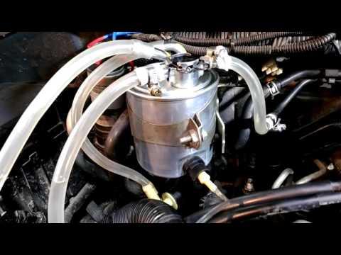 Nissan Pathibder R51 воздух в топливной системе