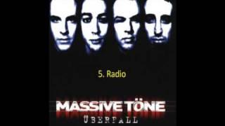 Massive töne Überfall = Track-Titel Radio