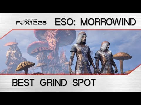 ESO: Best Spot to grind for XP and Gold in Vvardenfell!