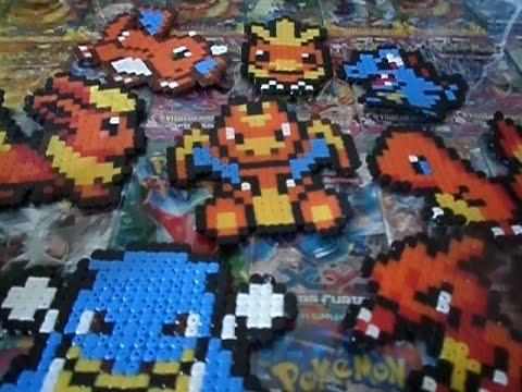 Présentaion De Mes Pixels Arts Pokémon En Perle Hama