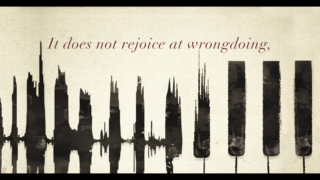 Love Never Ends I 1 Corinthians 13:4-10 (Lyric Video) - YouTube