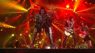 Kiss: I Was Made For Loving You Live From Hallenstadion, Zurich, Switzerland 2013