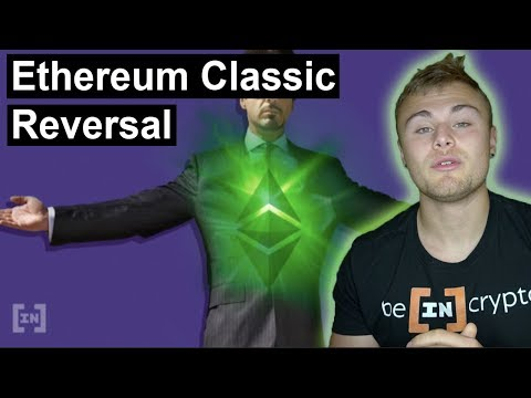 Ethereum Classic Showing Signs Of A Reversal: ETC/USD Price Analysis