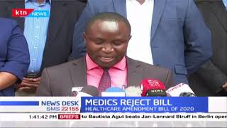 Medics decry their conditions of service