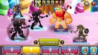 Monster Legends - 72h Challenge - Super Thyra level 1-130 combat review