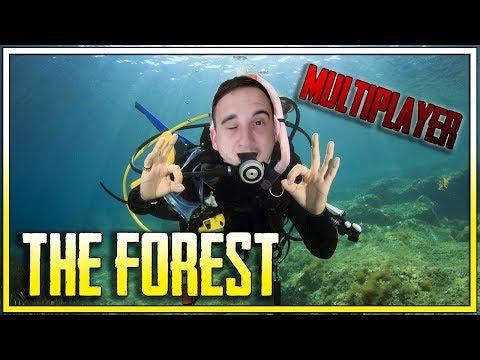 JASKINIOWI NURKOWIE!    THE FOREST MULTIPLAYER    (z: Bladii)